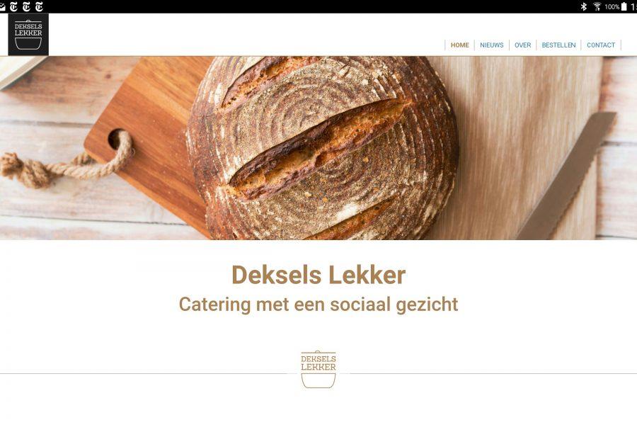 Deksels Lekker catering Houten